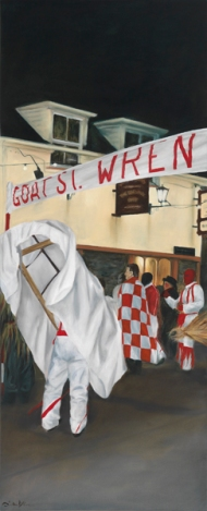 "Wren Series I 'Goat St' limited edition giclée print 508mm x 206mm (20"" x 8.1"")"