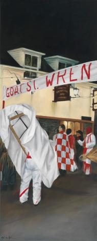 "'Goat St' limited edition giclée print508mm x 206mm (20"" x 8.1"")"