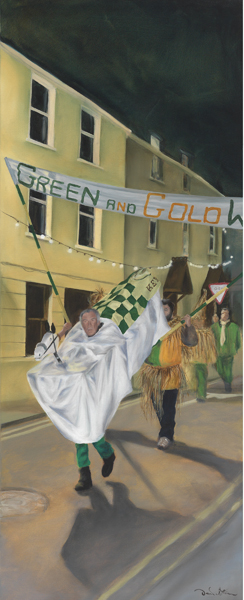 Wren Series III, Green & Gold, ©Artist, image