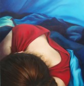 Danú, oil on canvas, image