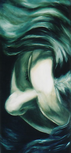 Muireann, oil on canvas, image