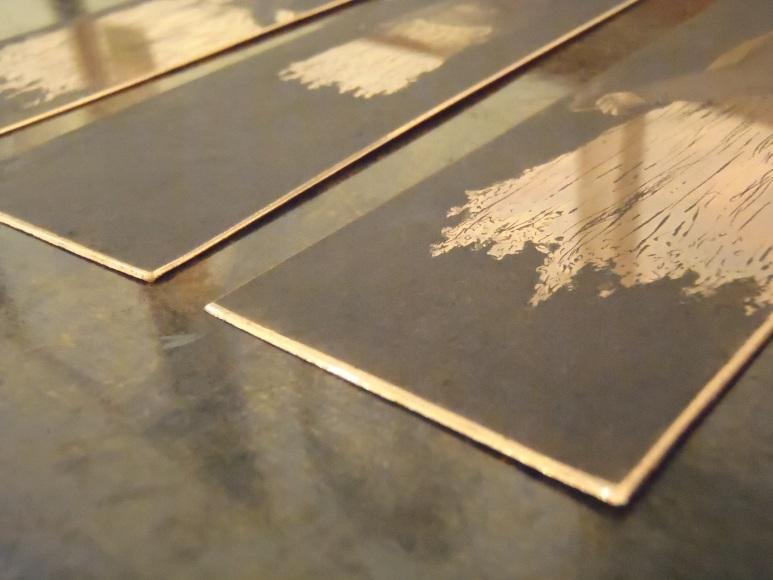 etching plates, image