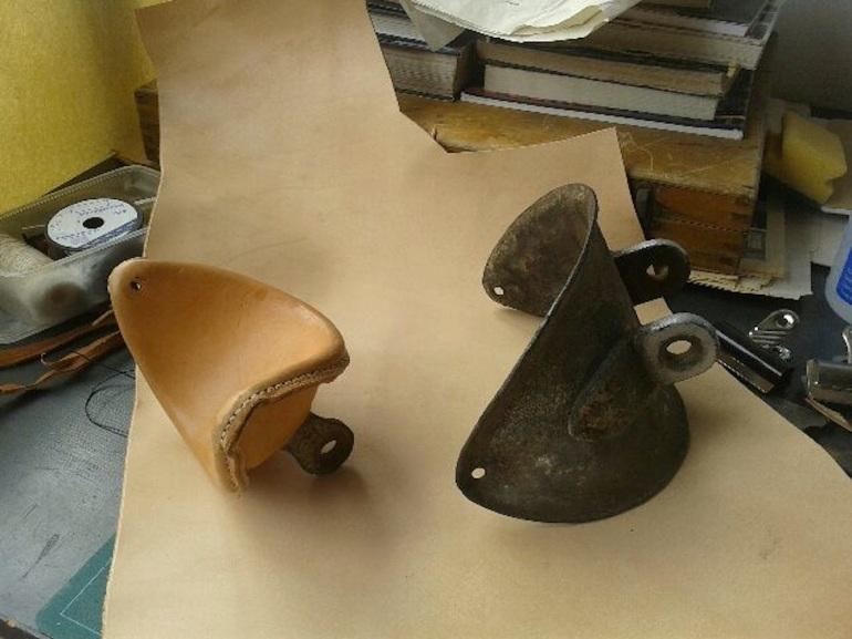Gaff saddles- half way there
