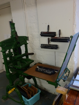 Letterpress @ Cork Printmakers