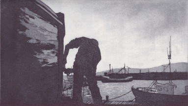 Saor Bháid Deireadh an Lae - etching&aquatint - edition size 20
